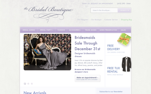 Access thebridalboutique.com using Hola Unblocker web proxy