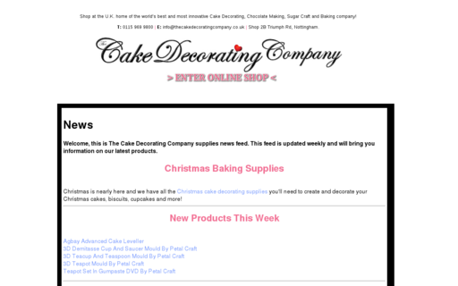 Access thecakedecoratingcompany.co.uk using Hola Unblocker web proxy