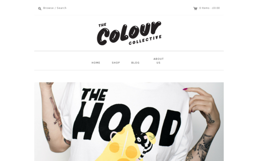 Access thecolourcollective.co.uk using Hola Unblocker web proxy