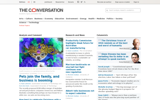 Access theconversation.com using Hola Unblocker web proxy