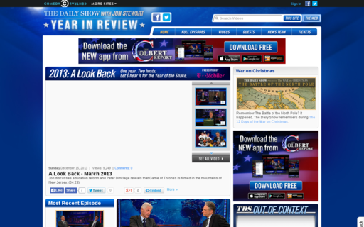 Access thedailyshow.com using Hola Unblocker web proxy