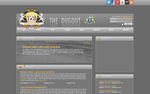 Access thedugout.net using Hola Unblocker web proxy