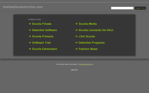 Access thefashiondetective.com using Hola Unblocker web proxy
