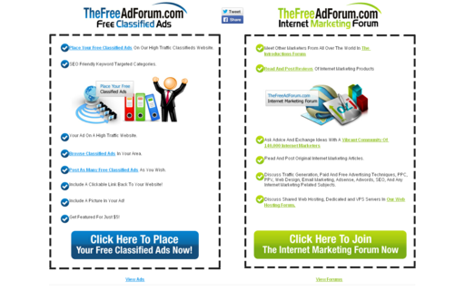 Access thefreeadforum.com using Hola Unblocker web proxy