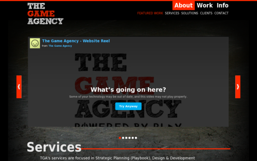 Access thegameagency.com using Hola Unblocker web proxy