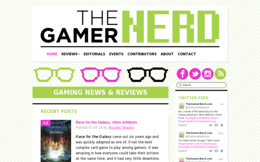 Access thegamernerd.com using Hola Unblocker web proxy