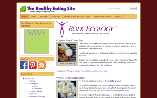 Access thehealthyeatingsite.com using Hola Unblocker web proxy