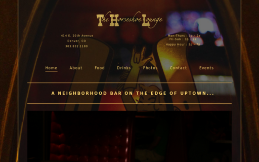Access thehorseshoelounge.com using Hola Unblocker web proxy