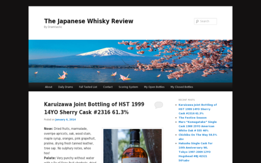 Access thejapanesewhiskyreview.com using Hola Unblocker web proxy
