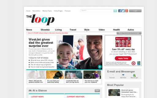 Access theloop.ca using Hola Unblocker web proxy