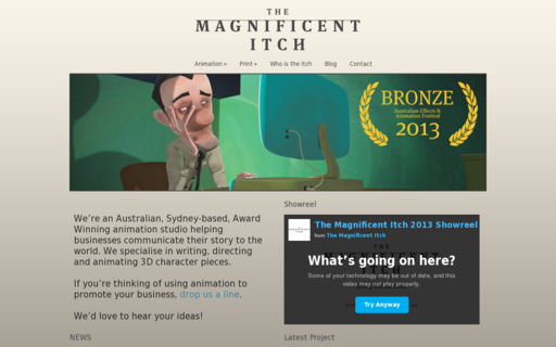 Access themagnificentitch.com.au using Hola Unblocker web proxy