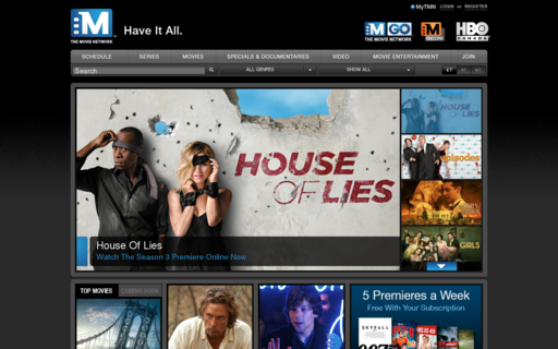 Access themovienetwork.ca using Hola Unblocker web proxy