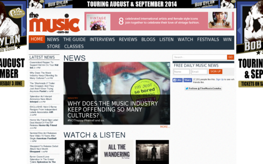 Access themusic.com.au using Hola Unblocker web proxy
