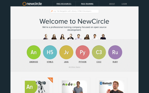 Access thenewcircle.com using Hola Unblocker web proxy