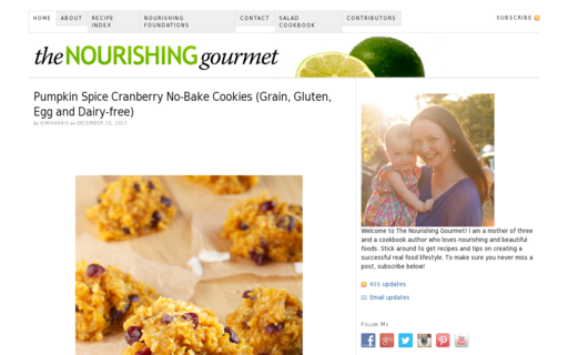 Access thenourishinggourmet.com using Hola Unblocker web proxy