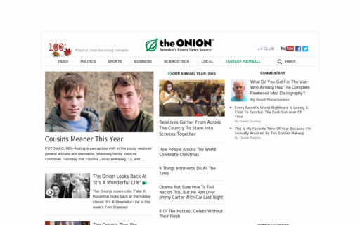 Access theonion.com using Hola Unblocker web proxy