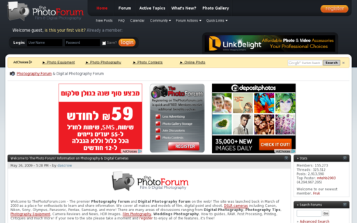 Access thephotoforum.com using Hola Unblocker web proxy