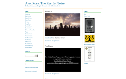 Access therestisnoise.com using Hola Unblocker web proxy