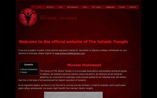 Access thesatanictemple.com using Hola Unblocker web proxy