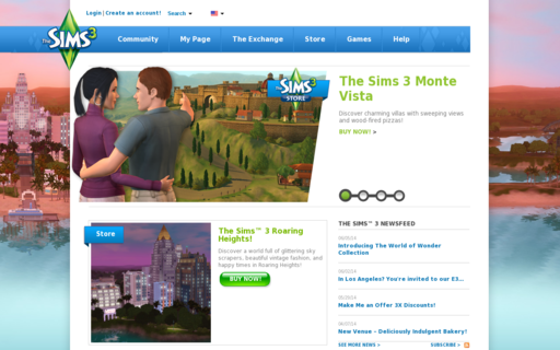 Access thesims3.com using Hola Unblocker web proxy