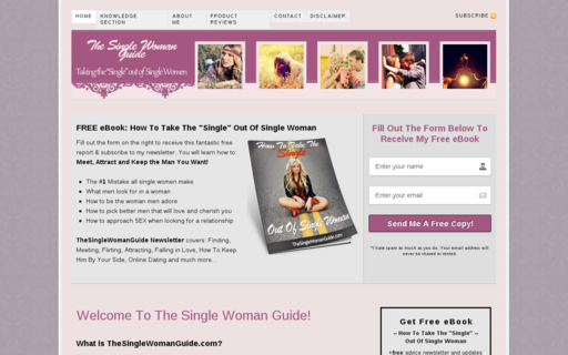 Access thesinglewomanguide.com using Hola Unblocker web proxy