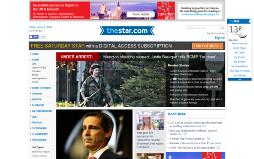 Access thestar.com using Hola Unblocker web proxy