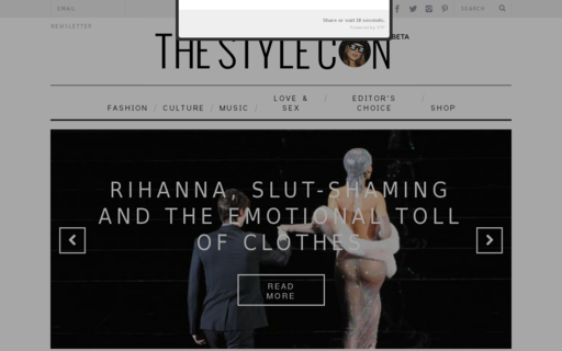 Access thestylecon.com using Hola Unblocker web proxy