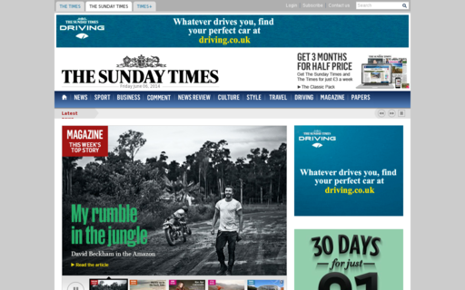 Access thesundaytimes.co.uk using Hola Unblocker web proxy
