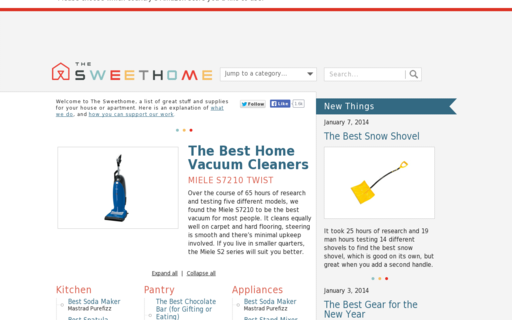 Access thesweethome.com using Hola Unblocker web proxy