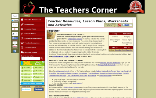 Access theteacherscorner.net using Hola Unblocker web proxy
