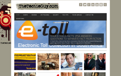 Access thetechieguy.com using Hola Unblocker web proxy