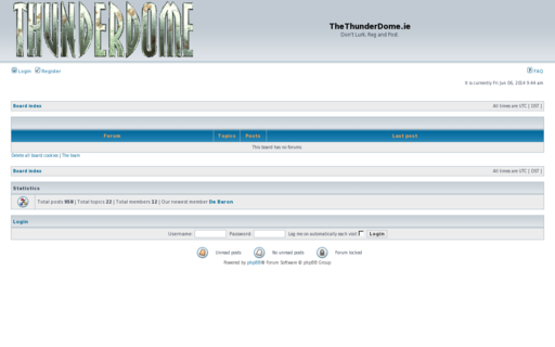Access thethunderdome.ie using Hola Unblocker web proxy
