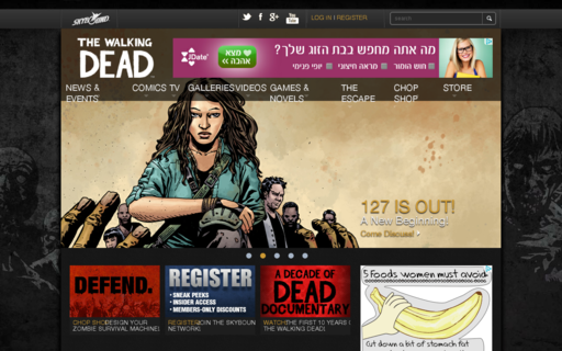Access thewalkingdead.com using Hola Unblocker web proxy