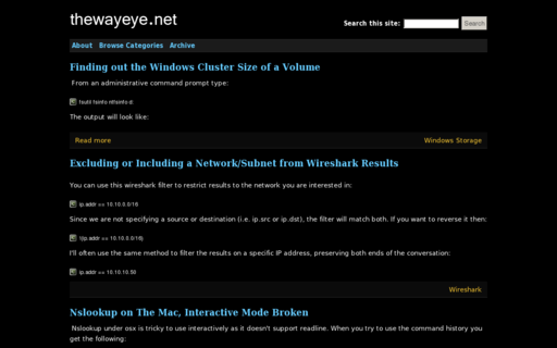 Access thewayeye.net using Hola Unblocker web proxy