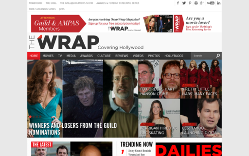 Access thewrap.com using Hola Unblocker web proxy