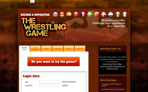 Access thewrestlinggame.com using Hola Unblocker web proxy