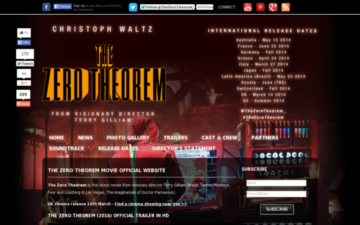 Access thezerotheorem-movie.com using Hola Unblocker web proxy