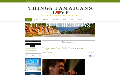 Access thingsjamaicanslove.com using Hola Unblocker web proxy