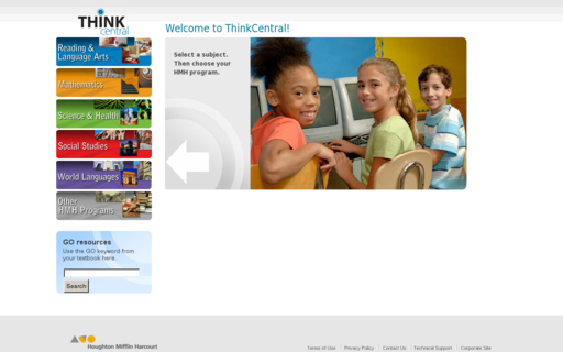 Access thinkcentral.com using Hola Unblocker web proxy