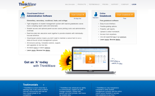 Access thinkwave.com using Hola Unblocker web proxy