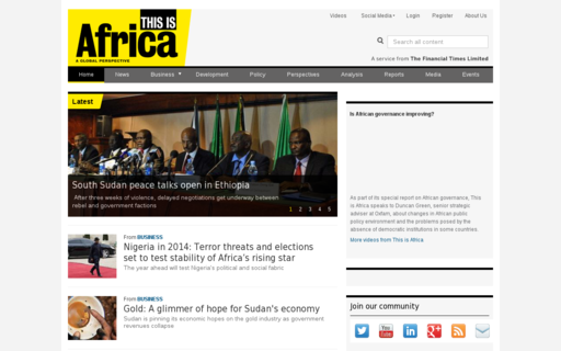 Access thisisafricaonline.com using Hola Unblocker web proxy