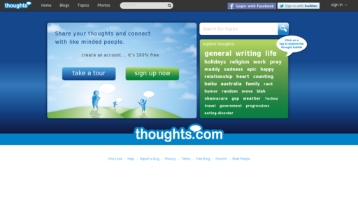 Access thoughts.com using Hola Unblocker web proxy