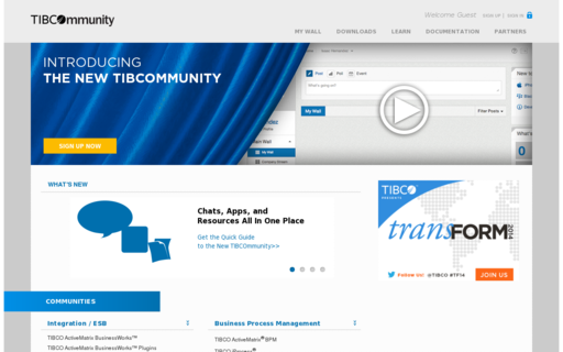 Access tibcommunity.com using Hola Unblocker web proxy