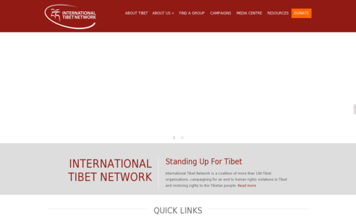 Access tibetnetwork.org using Hola Unblocker web proxy