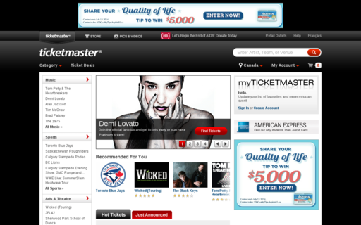 Access ticketmaster.ca using Hola Unblocker web proxy