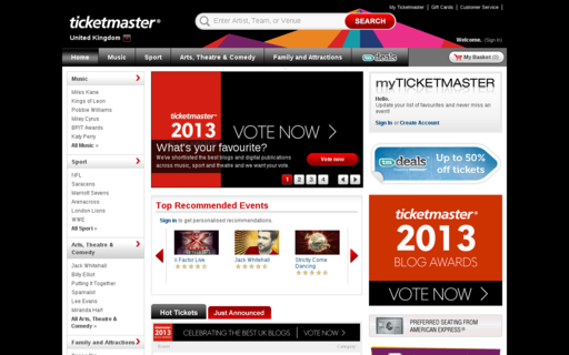 Access ticketmaster.co.uk using Hola Unblocker web proxy