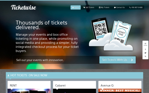 Access ticketwise.ca using Hola Unblocker web proxy