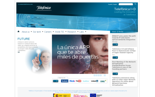 Access tid.es using Hola Unblocker web proxy