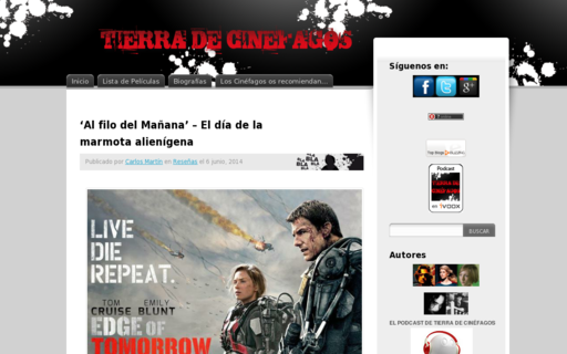 Access tierradecinefagos.com using Hola Unblocker web proxy