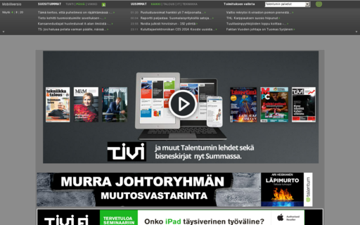 Access tietoviikko.fi using Hola Unblocker web proxy